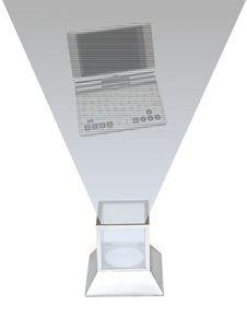 Free Futuristic Televsion Stock Image - 8358341