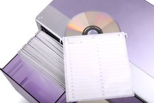 CD Box Stock Photo