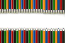 Multicolor Pencils Royalty Free Stock Images