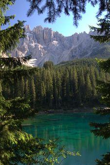 Free Turquoise Mountain Lake Stock Photos - 8358963