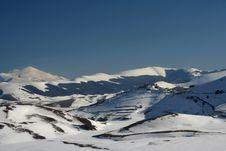 Free Winter Landscape In Castelluccio Stock Photo - 8359170