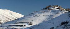 Free Winter Scenery In Castelluccio Stock Photography - 8359402