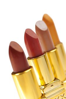 Free Lipstick Color Samples Stock Photos - 8359403