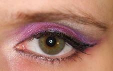 Free Pink Eye Royalty Free Stock Photos - 8359508