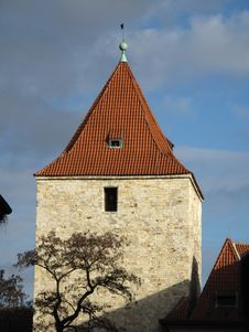 Free Prague Grad Tower Stock Images - 8359594