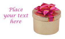 Free Beautiful Present Box On White Royalty Free Stock Photos - 8359808