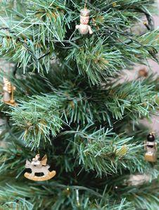 Free Close-up Christmas Tree Decoration Stock Image - 8359921