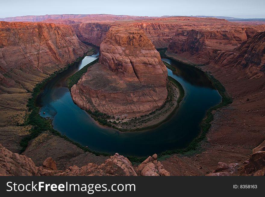Colorado River at Horseshoe Canyon