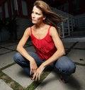 Free Woman Posing Royalty Free Stock Image - 8366076