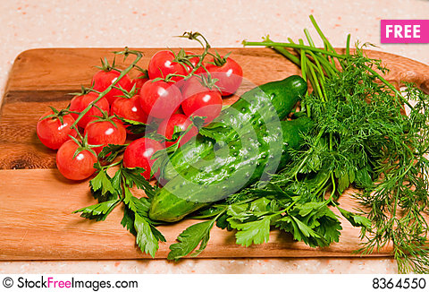 Free Vegetables For Salad Stock Photo - 8364550