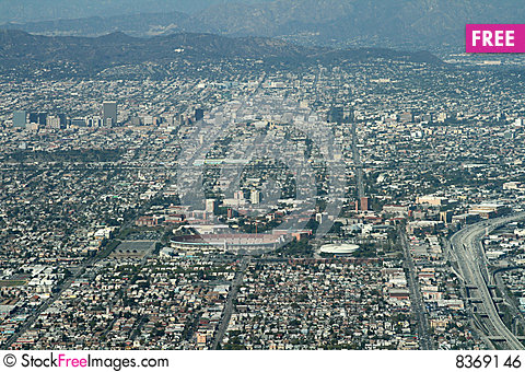 Free Los Angeles Olympic Stadium Royalty Free Stock Image - 8369146
