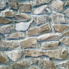 Free Old Stone Wall Textute Royalty Free Stock Photography - 8360107