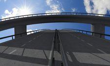 Free Empty Bridge Stock Image - 8360181