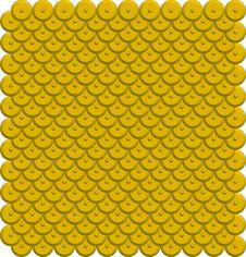 Free Image. Circle Based Abstract Tile Pattern 11 Royalty Free Stock Image - 8361136