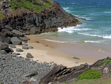 Free Secluded Beach Royalty Free Stock Photography - 8361547