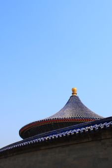 Beijing Temple Of Heaven 2009 Stock Image