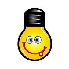 Free Smile Icon With Tongue Stock Photos - 8361953