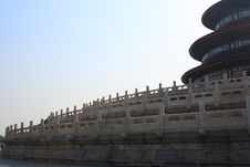 Beijing Temple Of Heaven 2009 Royalty Free Stock Images