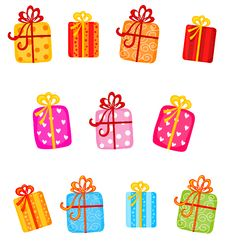 Free Gifts Stock Images - 8362274