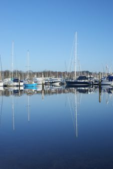 Free Yacht Reflections 1 Stock Photos - 8362353