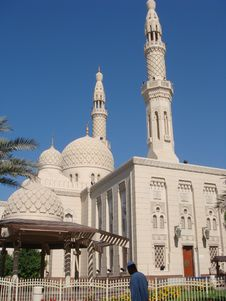 Free Jumeirah Mosque Royalty Free Stock Photo - 8362645
