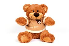 Free Brown Teddy Bear Royalty Free Stock Photos - 8362688