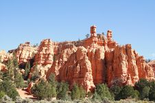 Free Bryce Canyon NP, Part Red Canyon Stock Image - 8362921