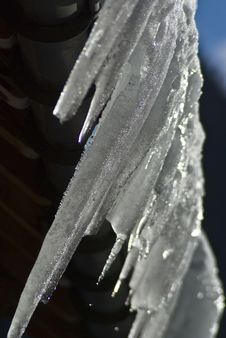Free Chalet Icicles Stock Photos - 8363453