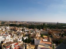 Free Panoramic View Of Sevilla Stock Images - 8363464