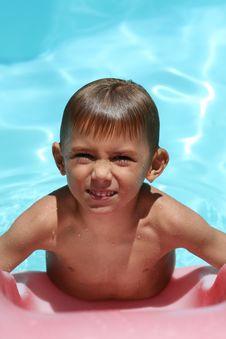 Free Boy Frowning Stock Photos - 8364413
