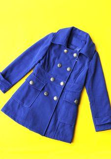 Fashion Coat For Lady Stock Image