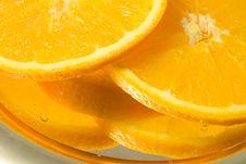 Free Orange Slices Royalty Free Stock Photography - 8366047