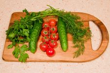 Free Vegetables For Salad Stock Images - 8366424