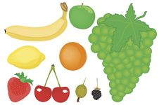 Free Fruit Various Royalty Free Stock Photos - 8366538