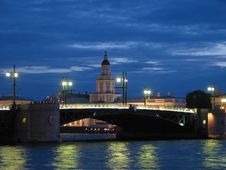 Free Saint Petersburg Bridge Stock Images - 8368144
