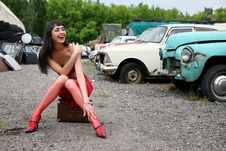 Free Hitch-hiker Royalty Free Stock Photography - 8368227