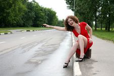 Free Hitch-hiker Stock Photo - 8368810