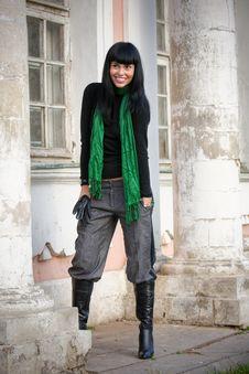Free Beautiful Fashion Brunette Girl Royalty Free Stock Photo - 8369055