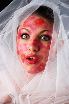 Free Woman And Veil Stock Photo - 8369150