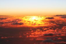 Free Sunset In The Air Stock Images - 8369194