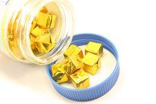 Bullion Cubes Royalty Free Stock Image