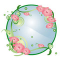 Free Abstract Round Floral Background Royalty Free Stock Photo - 8373015