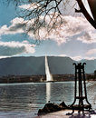Free Lake Leman Water Jet In Geneva Stock Photos - 8375683