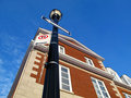 Free A Town Home With A Light Post Royalty Free Stock Image - 8379996