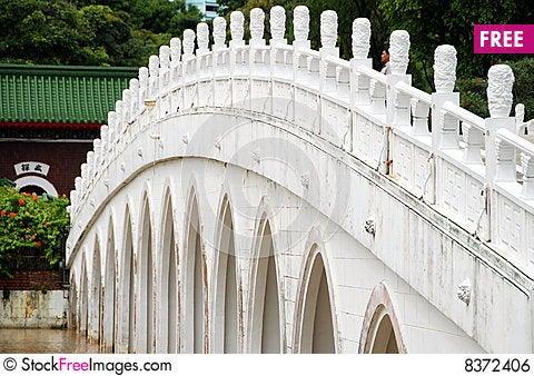 Singapore: Thirteen Span Bridge In Chinese Garden - Free Stock ...