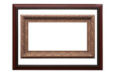 Free Frame For Picture From Baguette On White Stock Photo - 8371040
