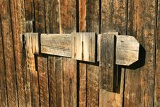 Free Wooden Barn Latch Stock Images - 8371334