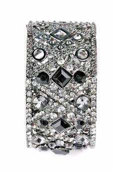 Free Diamond Bracelet Royalty Free Stock Images - 8371409