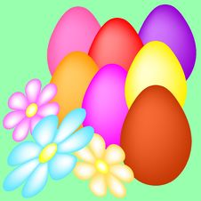 Free Easter Eggs Stock Image - 8371561