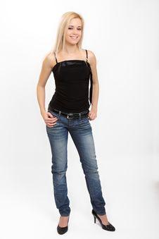 Free Fashion Girl Stock Image - 8372071